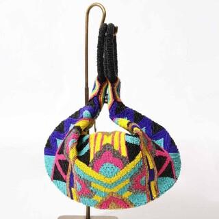 GRACE CONTINENTAL - グレースコンチネンタル刺繍バッグ ビーズバッグ カラフルバッグ