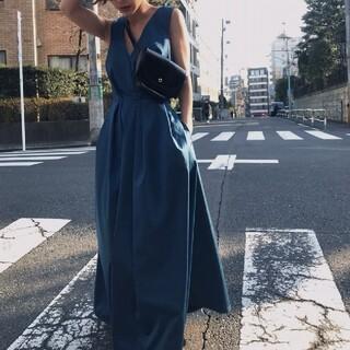 アメリヴィンテージ(Ameri VINTAGE)のLADY TUCK  DRESS(ロングワンピース/マキシワンピース)
