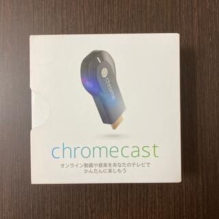 グーグル(Google)のGoogle chromecast クロームキャスト(PC周辺機器)
