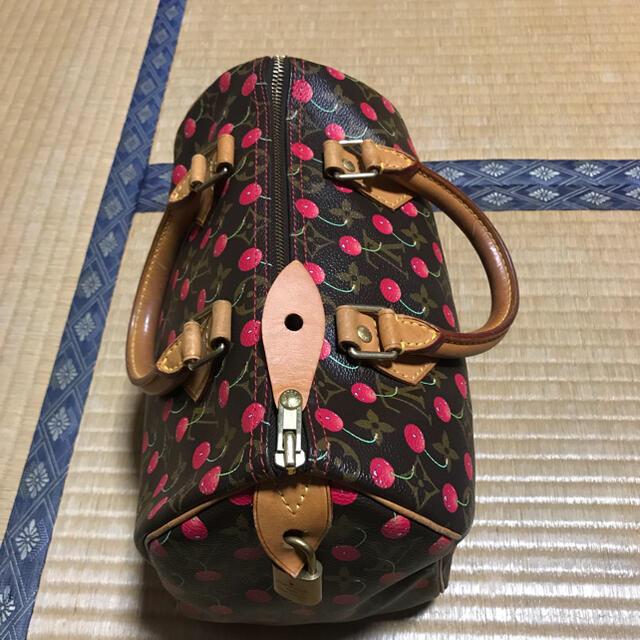 LOUIS VUITTON(ルイヴィトン)の正規品!ルイヴィトン スピーディ25 チェリー 村上隆  レディースのバッグ(ハンドバッグ)の商品写真
