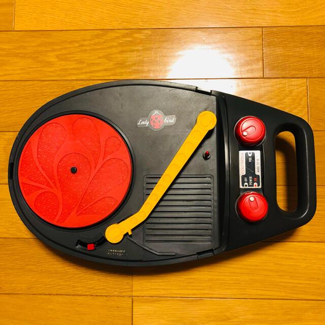 Columbia(コロンビア)のてんとう虫 ポータブル  レコードプレーヤー COLUMBIA SE-8 スマホ/家電/カメラのオーディオ機器(ポータブルプレーヤー)の商品写真