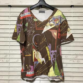 ヨウジヤマモト(Yohji Yamamoto)の大正ロマン期 Yohjiyamamoto POUR HOMME   半袖Tシャツ(Tシャツ/カットソー(半袖/袖なし))