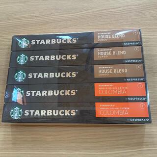 スターバックスコーヒー(Starbucks Coffee)の☆未開封☆ネスプレッソ カプセル スターバックス スタバ(コーヒー)