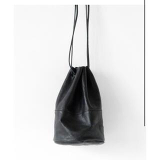 Hender Scheme - アーツアンドクラフツ レザー 巾着 バッグ エンダースキーマ