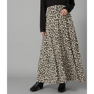 ローリーズファーム(LOWRYS FARM)のLOWRYS FARM ハナクルミボタン Aラインスカート828989(ロングスカート)