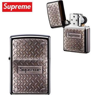 """シュプリーム(Supreme)のSupreme Diamond Plate Zippo® """"Metal""""(タバコグッズ)"""