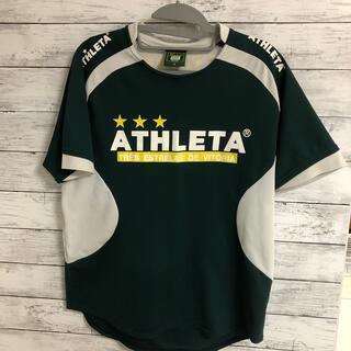 アスレタ(ATHLETA)のアスレタ Tシャツ 緑 M(ウェア)