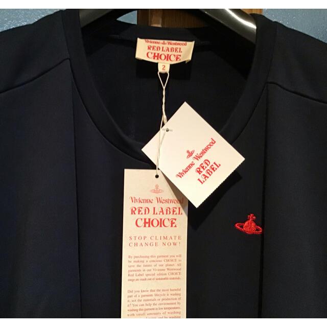 Vivienne Westwood(ヴィヴィアンウエストウッド)のhana 様専用 新品未使用 ビビアン ウエストウッド ワンピース チュニック レディースのワンピース(ひざ丈ワンピース)の商品写真