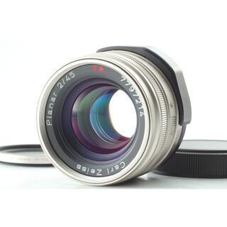 キョウセラ(京セラ)のCONTAX Carl Zeiss Planar T* 45mm f/2 レンズ(レンズ(単焦点))