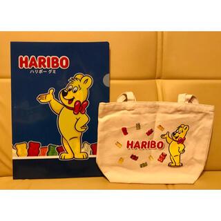 HARIBOグミのトートバッグ&クリアファイル(トートバッグ)