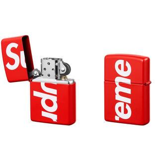 シュプリーム(Supreme)のSupreme Logo Zippo  Red White  (タバコグッズ)