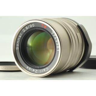 キョウセラ(京セラ)のCONTAX Carl Zeiss Sonnar T* G 90mm レンズ(レンズ(単焦点))