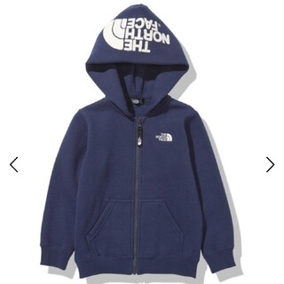 THE NORTH FACE - 140cm THE NORTH FACEリアビューフルジップフーディー