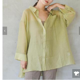 Kastane - kastane 透けbigシャツ