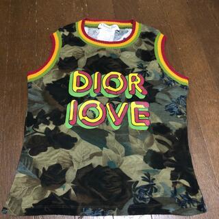クリスチャンディオール(Christian Dior)のDiorタンクトップ(タンクトップ)