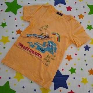 kladskap - クレードスコープ アロハトレイン半袖Tシャツ 130cm オレンジ ナルミヤ