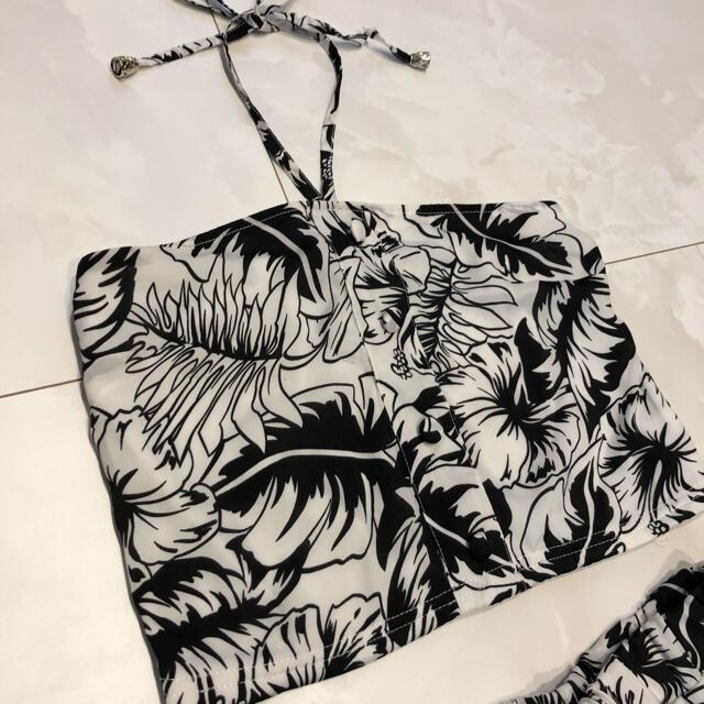 CECIL McBEE(セシルマクビー)のセシルマクビー セットアップ ベアトップ ロングスカート フレアスカート 花柄 レディースのワンピース(ロングワンピース/マキシワンピース)の商品写真