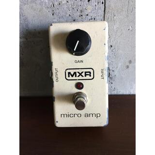 MXR micro amp グリーンブースター(エフェクター)