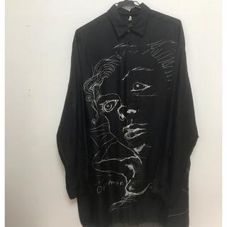 Jil Sander - oamc オーバーサイズシルクシャツ