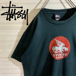 ステューシー(STUSSY)の【STUSSY】90s OLD STUSSY USA製 希少デザイン Tシャツ(Tシャツ/カットソー(半袖/袖なし))