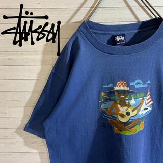 ステューシー(STUSSY)の【STUSSY】USA製 OLD STUSSY 好配色 アロハデザイン Tシャツ(Tシャツ/カットソー(半袖/袖なし))