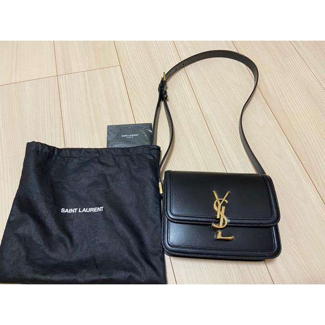 Saint Laurent(サンローラン)の美品!サンローラン スモールサッチェル ソルフェリーノ レディースのバッグ(ショルダーバッグ)の商品写真