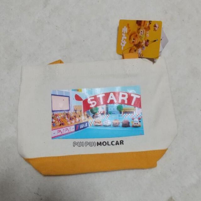 しまむら(シマムラ)のモルカー シャシンミニトート トートバッグ エンタメ/ホビーのおもちゃ/ぬいぐるみ(キャラクターグッズ)の商品写真