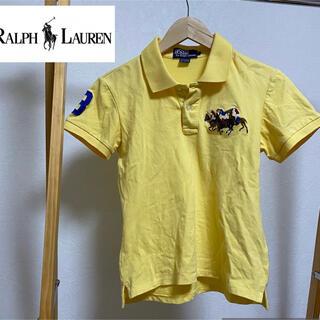 ポロラルフローレン(POLO RALPH LAUREN)のpolo Ralph Lauren ポロシャツ ビッグポニー イエロー L(ポロシャツ)