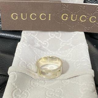グッチ(Gucci)のGUCCI リング カットアウト型抜き GロゴリングGリング 23号 SV925(リング(指輪))