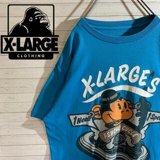 XLARGE - 【X-LARGE】エクストララージ 人気 keith キース デカロゴ Tシャツ