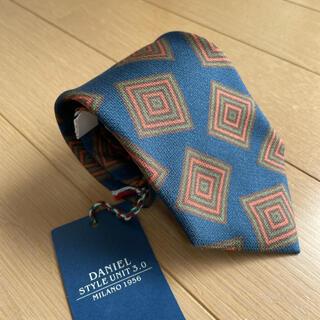 BEAMS - ビームスで購入ダニエルDaniel小紋柄ネクタイ新品ネイビー BEAMS