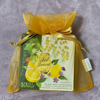 ルピシア(LUPICIA)の<プレゼント包装つき>ソレイユ ルヴァン フレーバードティー(緑茶)(茶)