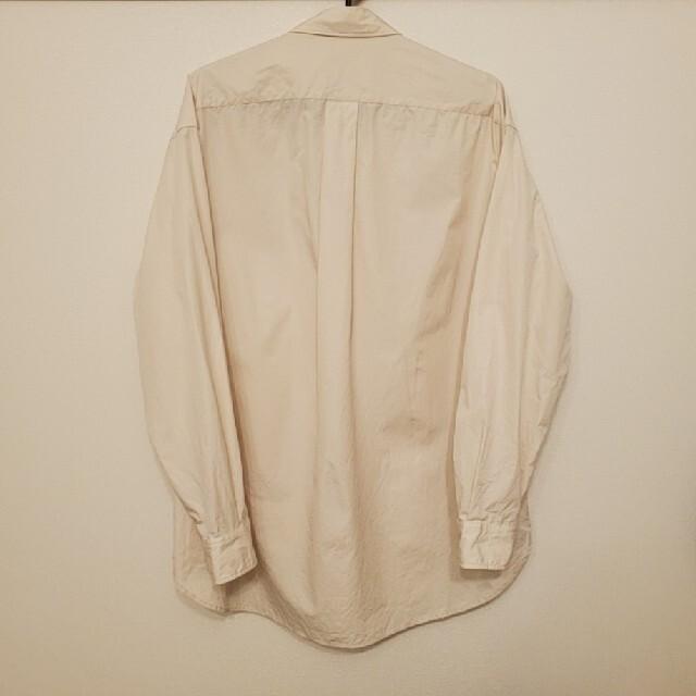 UNIQLO(ユニクロ)の+J ジルサンダースーピマコットンオーバーサイズシャツ メンズのトップス(シャツ)の商品写真