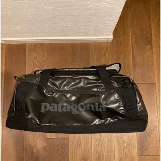 パタゴニア(patagonia)のパタゴニア ブラックホールダッフル ダッフルバッグ 60L ブラック(ボストンバッグ)