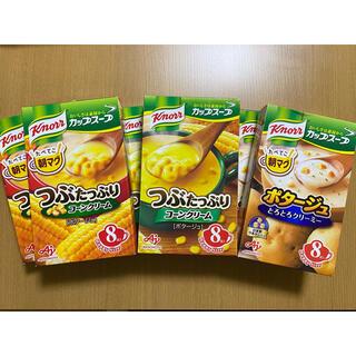 アジノモト(味の素)のクノールカップスープ2種類 大箱6個(インスタント食品)