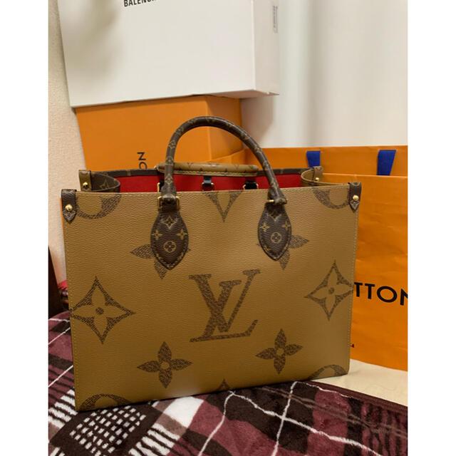 LOUIS VUITTON(ルイヴィトン)の正規品 ルイヴィトン オンザゴー mm レディースのバッグ(トートバッグ)の商品写真