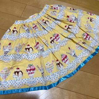 Shirley Temple - シャーリーテンプル パフェ スカート 130