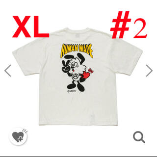 2XL humanmade × girls dont cry vick tee