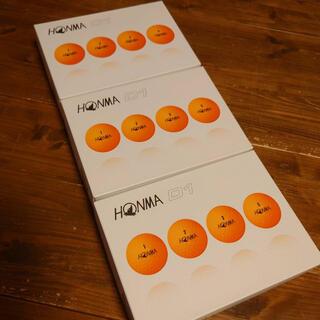 ホンマゴルフ(本間ゴルフ)のHONMA D1 ゴルフボール オレンジ(ゴルフ)