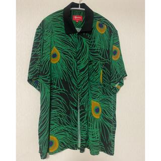 Supreme - Supreme 16ss peacock shirt