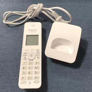 パナソニック(Panasonic)のパナソニック 電話機 増設子機のみ KX-FKD508-W(その他)