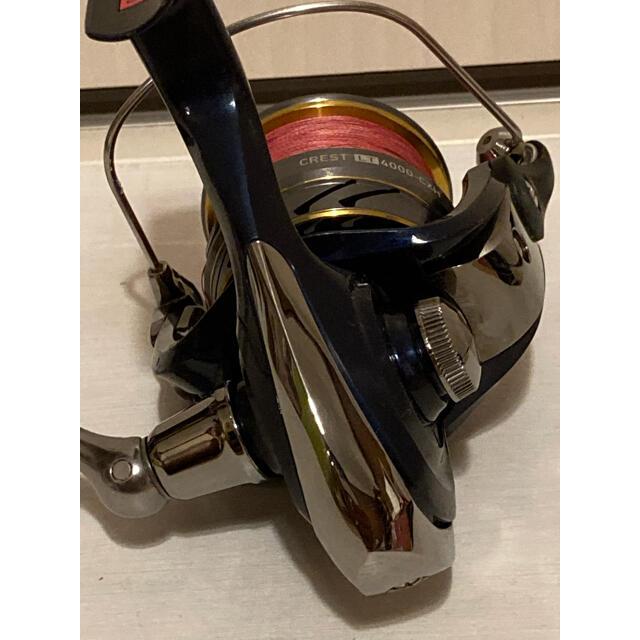 DAIWA(ダイワ)のゆーさん専用 ダイワ リール CREST LT 4000-CXH スポーツ/アウトドアのフィッシング(リール)の商品写真
