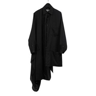 ヨウジヤマモト(Yohji Yamamoto)のyohji yamamoto 20AW ドレープシャツ size2 美品(シャツ)