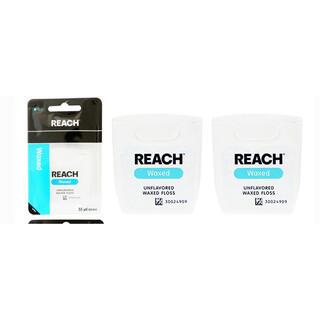 REACH(リーチ)デンタルフロス 55ヤード 2個セット(歯ブラシ/デンタルフロス)