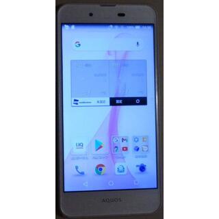 シャープ(SHARP)の◆SHARP UQ mobile AQUOS L SHV37 SIMフリー?◆(スマートフォン本体)