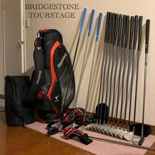 ブリヂストン(BRIDGESTONE)の超豪華‼️⛳️100切り90切りメンズゴルフセットBRIDGESTONE(クラブ)