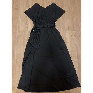 GRL - ロングワンピース GRL グレイル 黒 ブラック 半袖