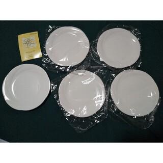 Noritake - ノリタケ アンサンブルホワイト パンザラ 16センチ 皿 5枚