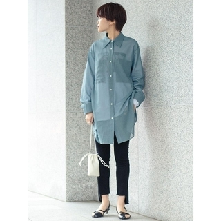 BEAUTY&YOUTH UNITED ARROWS - BY UNITED ARROWS シアー ポケット ワイド シャツ 新品 未使用
