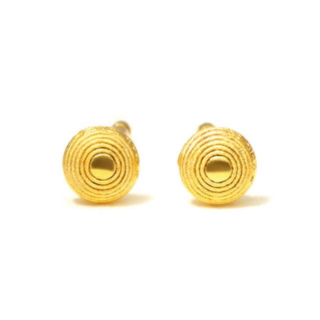 未使用 純金 24金 24k  ピアス レディースのアクセサリー(ピアス)の商品写真